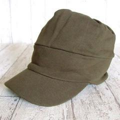 帽子♪オールシーズン スウェット ワークキャップ  カーキ