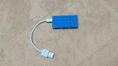 Elecom バスパワー専用 USBハブ ToyBrick U2H-BL4B 4ポート