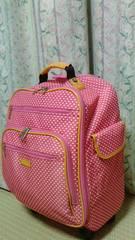 キャリーバッグ☆スーツケース★アツキ オオニシ☆収納多数★送料着払いのみ
