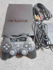 薄型PS2本体セットSCPHー70000美品動作確認済み