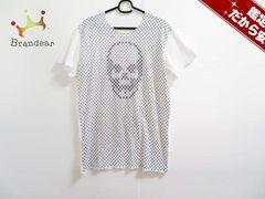 lucien pellat-finet(ルシアンペラフィネ) 半袖TシャツL レディース 白×黒 スター