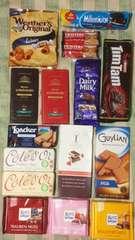 1円外国産チョコレートお菓子15点詰め合わせ定価\5000相当