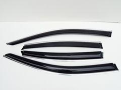日産 ティアナ L33  クロームメッキライン入り ドアバイザー/サイドバイザー