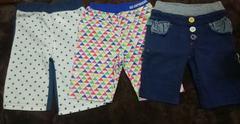子供服 90〜100cm(半ズボン) 3点まとめ売り