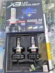 PHILIPS X3 LED H4 KIT ヘッドライト フォグ LEDヘッドライト