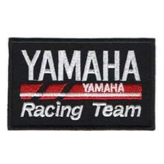 ヤマハ(Yamaha)RC■ワッペン■黒白赤#ymh001