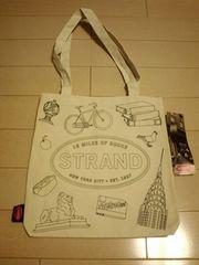STRAND BOOK Store☆キャンパストートバッグ☆未使用ストランドブックストアNY
