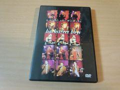 Backstreet Boys DVD「ア・ナイト・アウト・ウィズ」●