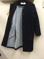 ADORE のボンディングとの異素材のコート一回着用