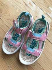 キッズ サンダル 靴 女の子 18