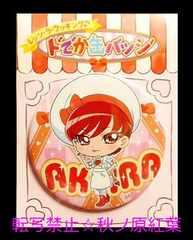 キラキラ☆プリキュアアラモードプリティストア限定レッツ・ラ・クッキング缶バッジ あきら
