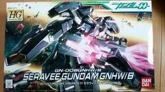 HG:セラヴィーガンダムGNHW/B☆1/144☆未組立品!