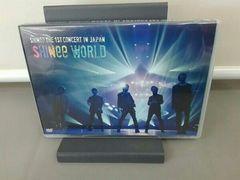 "SHINee『 THE 1ST CONCERT IN JAPAN ""SHINee WORLD""』DVD送料込!"