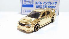 スバル・インプレッサ・WRX・STi・4door・金メッキバージョン・非売品