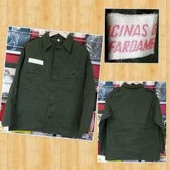 ミリタリー フィールドジャケット シャツ ポルトガル軍 60年代 ユーロ
