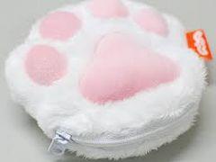 希少 非売品 にゃらんのぷにぷに 肉球ポーチ 猫 ネコ ねこ