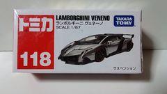 新品未開封 トミカ 118 ランボルギーニ ヴェネーノ