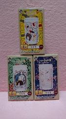 夏目友人帳 一番くじ☆本屋玉手箱 I賞 グラス 全3種セット ニャンコ先生