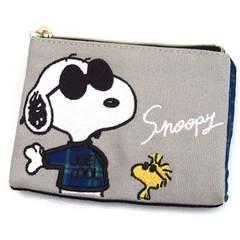 【スヌーピー】可愛い財布.目薬.リップ.小物入♪刺繍ティッシュ&マスクケース