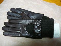 アンテプリマ羊皮革手袋ニットインナー