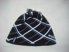 rc66 男 RIP CURL リップカール ニット帽 ビーニー 柄 黒白