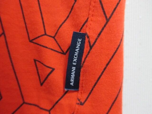 ☆アルマーニ エクスチェンジ 総柄 ロゴ プリント ポロシャツ 半袖/メンズ/XS☆新品 < ブランドの