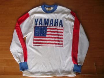 ビンテージ USA製 ヤマハ モトクロス シャツ USA−M