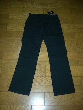 新品SHELLACシェラック6ポケパンツ黒48薄手カーゴ半額以下