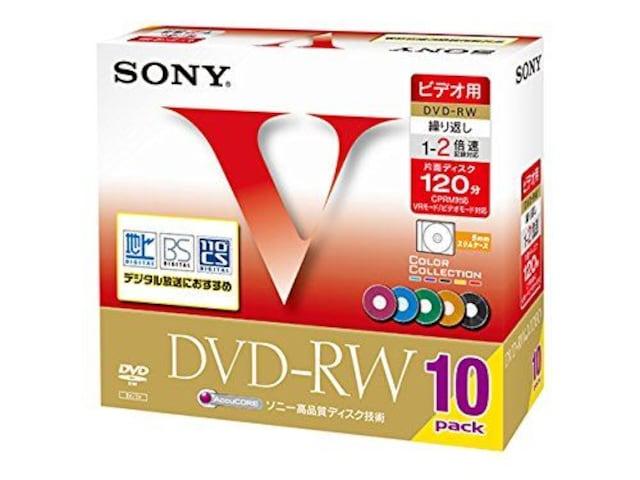 人気急上昇!SONY ビデオ用DVD-RW 120分 < 家電/AVの