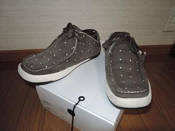 VISVIMヴィズヴィムPOLKE-LOドット柄シューズ靴9スニーカー