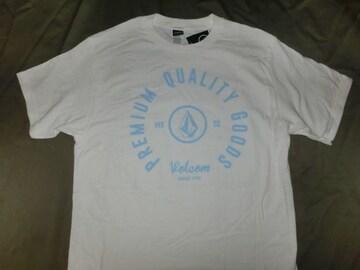 USA購入 ボルコム【Volcom】ロゴプリントTシャツUS S ホワイト