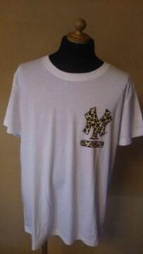 売り切りセール/majestic athletic/MLB/nyTシャツ/XL/ニューヨークヤンキース