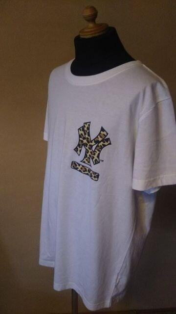 売り切りセール/majestic athletic/MLB/nyTシャツ/XL/ニューヨークヤンキース < 男性ファッションの