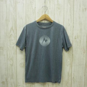 即決☆マーモット特価MARKロゴ半袖Tシャツ BLK/Mサイズ 新品
