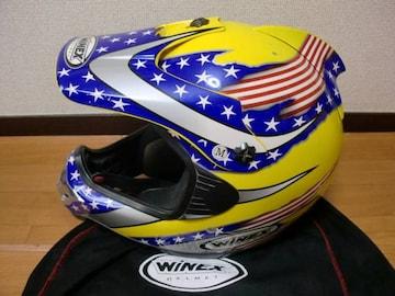 WINEX RACING ワイネックス モトクロス ヘルメット M