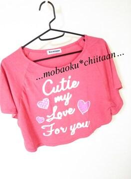 。*・◆ポンチョ型〃ショート丈Tシャツ◆・*。