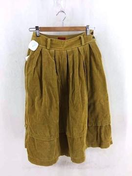 KENZO(ケンゾー)太畝コーデュロイ フレアスカートスカート