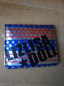 ★未使用 LIZLISA DOLL リズリサ ドール 二つ折財布  ハデ●