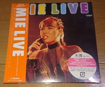 【廃盤新品】MIE「MIE LIVE+2」☆ピンクレディー☆