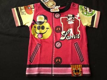 ≪JAM≫ボタン&ポケットプリントTシャツ バクプリ�� 正規品