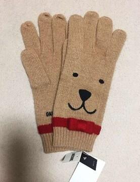 MOSCHINO☆モスキーノ☆ニット 手袋☆新品タグ付き
