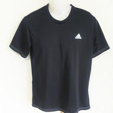 美品 adidasアディダス Tシャツ 黒