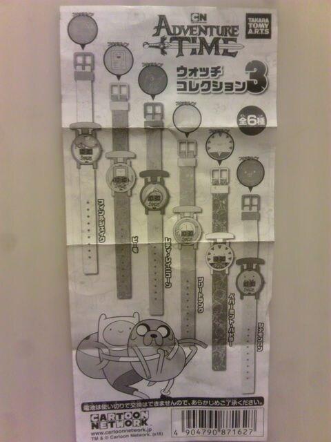 アドベンチャータイム腕時計カートューンネットワーク < アニメ/コミック/キャラクターの