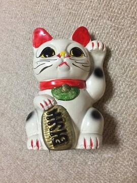 招き猫 まねきねこ 貯金箱 陶器 ミニサイズ