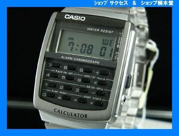 新品 即買い■カシオ カリキュレーター 腕時計 CA-506-1UW★