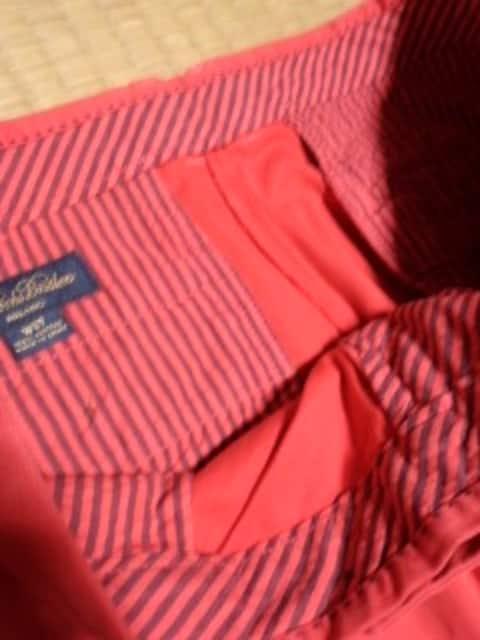 ブルックスブラザーズ 赤パンツ 37 ミラノ < 男性ファッションの