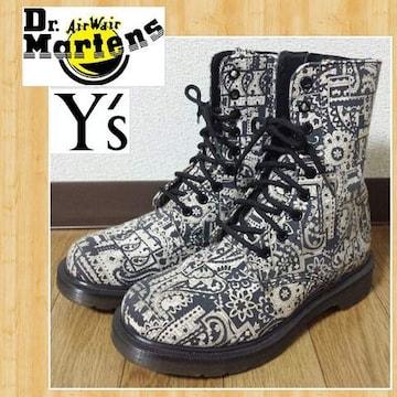 Dr.Martens × Y's コラボ ブーツ ドクターマーチン ワイズ 美品 UK4