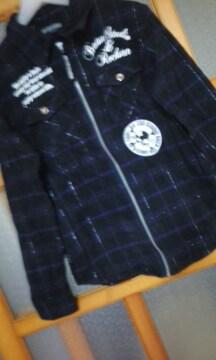 BA−TSUロゴ入りシャツジャケット160