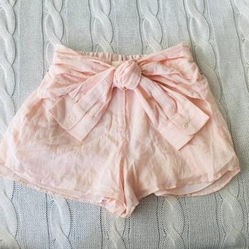 スナイデル 美品 梨花 着用 腰巻風 ショートパンツ ピンク