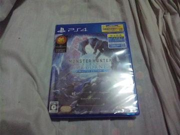 【新品PS4】モンスターハンターワールド:アイスボーン マスター